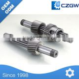 High precision-Chemical Machinery Parts-Shaft-Spline-Worm-001