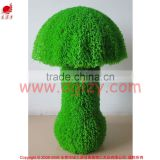 Artificial green grass marshroom sculpture plant topiary for garden landscaping ornamental decoration