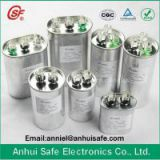 CBB65 air conditioner Oval capacitor(explosion-proof 10000AFC SH P1 P2 50 60Hz 5% 30000H CE ROHS SGS TUV DIN UL CSA CQC ISO9001)