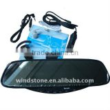 Bluetooth Handsfree Car Kit With FM Earpiece Car Rearview Mirror Bluetooth Handsfree Mirror