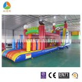 Giant Inflatable Obstacle Course , Outdoor Sports Obstacle Course , Inflatable Obstacle for adults