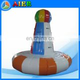 inflatable floating moutain climb/China inflatable climb for water game/ inflatable water climb for sale