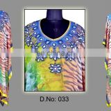 Women digital printed kaftan