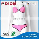 Fashion Sexy swimming neoprene mature woman bikini - solvent resistance ( solvent washable )