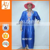 New Style Bazin Fashion African Clothing For Women Traditional Embroidery Long Dress Designs