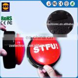 Programmable easy sound button custom logo for promotional gifts