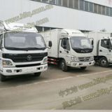 FOTON 4X2 5-6tons cargo truck manufacturer exported to Africa