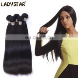 hengyuan big hair extension vendors Ladystar human hair extension straight wave