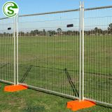 Australia type hot dipped galvanized welded wire mesh temporary event fencing