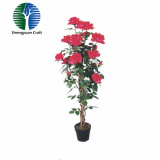 trend 2018!Indoor artificial flower rose tree bonsai outdoor decoration customized best selling products china factory wholesale