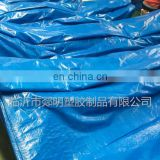 HDPE Woven Fabric Tarpaulin Cover, LDPE Coating Blue Tarpaulin Sheet