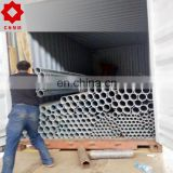 schedule 40 gi bs en 10255 class b Thread end with coupling hot dipped galvanized steel pipe