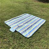 Blue Color Oxford Picnic Blanket 180x150cm Waterproof