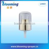Full AS cap sunscreen facial cream liquid pump for cosmetic packing