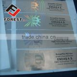 Supplied hot stamping hologram, hot stamping foil label, anti-counterfeit hologram sticker security label