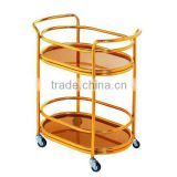 Trolley Move/Stainless Steel Food Trolley/Meat Trolley/Stainless steel hotel food service trolley
