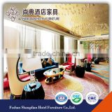 Modern luxury hotel public area furniture lobby furnitures coffee tables and sofa chairs