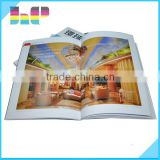 High quality cheap customized glossy lamination paperback book printing