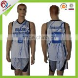 2016 basketball jersey designs/custom sublimation basketball jersey/team new model sports jersey