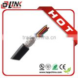 NEW one OFC CCA BC stranded copper cable LSZH XLPE PE insulation security system control cable