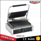 Non Stick Cast Iron Sandwich Press Contact Grill Electric Panini Maker Grill