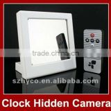 Mirror Clock Camera With Motion Detection Remote Control 1280x960 AVI HD Home Security Mini Camera