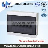 plastic cover electrical mcb distribution box