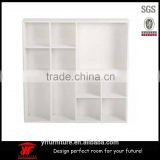 WOODEN WALL FLOATING UNIT STORAGE DISPLAY SHELF BOOKCASE