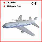 Advertising custom PVC inflatable airplanes model large size