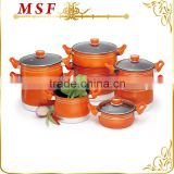MSF-6377 Pressing aluminum vegetable steamer set 3.5L / 4.0L / 6.0L /8.0L / 12L various size & capacity for perfect kitchen