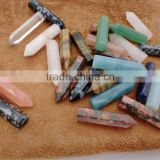 Wholesale Natural Mixed Gems Stones Double Point Healing Necklaces Earrings Pendant Beads Jewelry