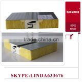 factory CE&ISO approved Fire Proof Glasswool Acoustic Light Weight Solar Sandwich Panel