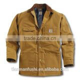 2015 Quality Durable Jacket Workwear Customed Cotton Hardwearing Working Jacket For Men