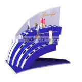 Manufacturer's Price Acrylic Customized Small Display Shelf desktop acrylic display stand