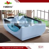 Luxurious massage bathtub / Massage Bathtub with pillow /2 person indoor sex bathtub