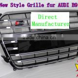car front grille for audi A4 B9 S4, B9 S4 GRILLE 2013 New S4 grille