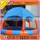 Commercial Quality Inflatable Swimming Pool with Tent Cover for Sale
