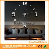 Fashion Designer Large Wall Clock Home Decor Diy Clock 3D                                                                         Quality Choice