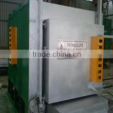 Bogie Type Gas Controlled Atmosphere Annealing Furnace for High Manganese Steel Casting, roller,