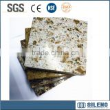 Dark brown Kitchen countertop Artificial quartz stone/artificial quartz/artificial stone slab