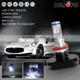 Latest universal h11 headlights led 12v 24v auto leveling headlight kit single beam automatic headlight kit