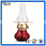Modern LED Imitate Kerosene Table Lamp/indoor and outdoor lighting blowing control led kerosene reading lamp