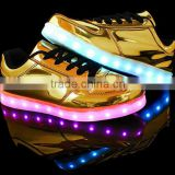 Christmas light up led shoes usb rechargeable                                                                                                         Supplier's Choice
