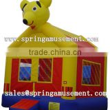 Best Sale and High quality inflatable animal bear bouncer, jumping castle, inflatable toys