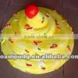 T&F PU artificial cake