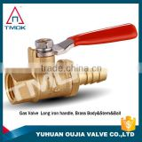 gas valve locking with forged and 600 wog high pressure for gas solenoid nipple brass gas valve