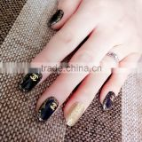 3D Nail Stickers Beauty Gold Design Brand Nail Art Charms Manicure Bronzing Decals Decorations Tools