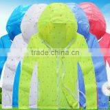 2016 Latest deisgn light weight and soft touch multi functional outdoor rain jacket                                                                                                         Supplier's Choice