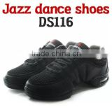 Jazz dance shoes DS116 dance shoes / DS116_Black / Dancing Shoes / Slimming shoes / Sports shoes