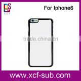 2015 Blanks for iphone 6 cases, 2D sublimation cover for iphone 6